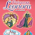 Glitter Princess Leonora Stickers