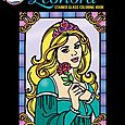 Princess Leonora Stained Glass Coloring Book
