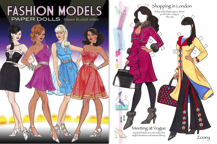 Fashion-models-paper-dolls-#1-Rudy-Miller