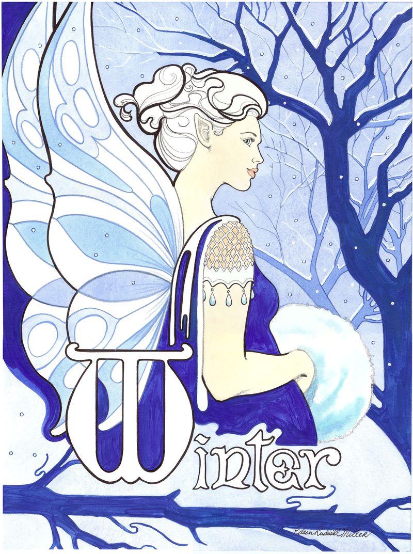 Winter Fairy 8x10