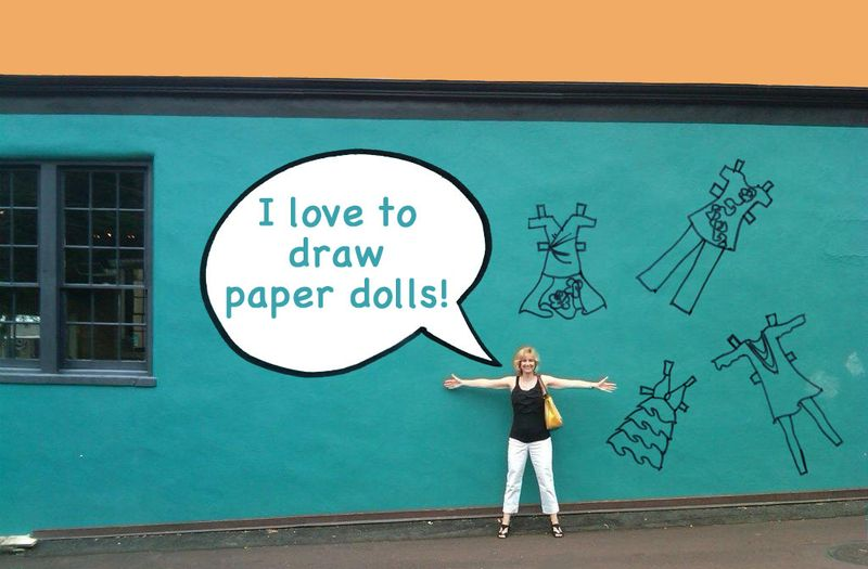 Rudy and paper dolls