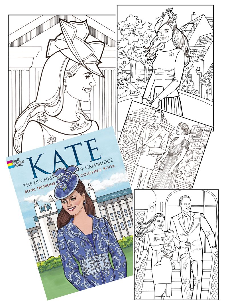 Kate coloring montage
