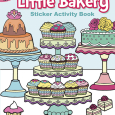 Little Bakery Sticker Activity Book