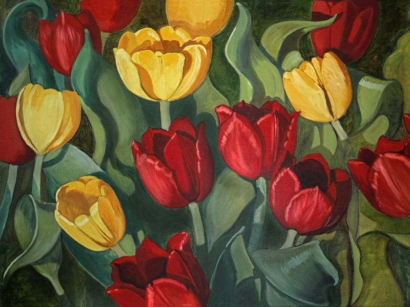 Tulips lighter