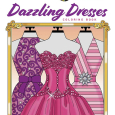 Dazzling Dresses Coloring Book