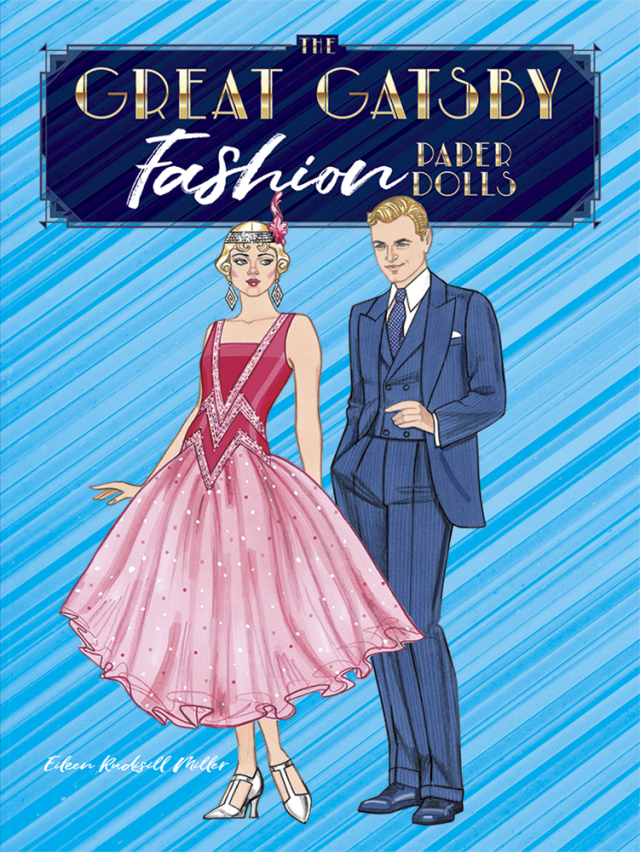 The Great Gatsby Fashion Paper Dolls