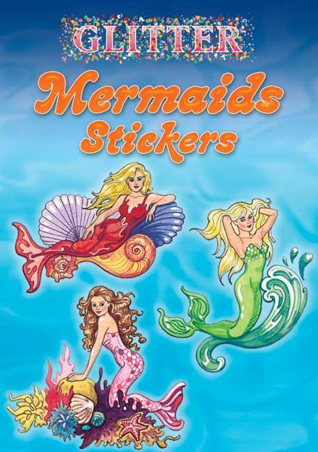 Glitter Mermaid Stickers