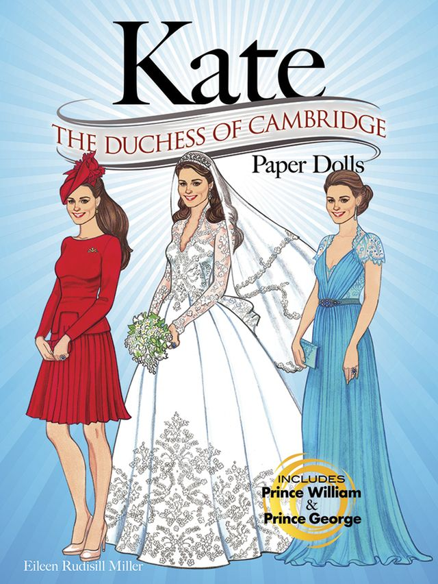 Kate The Duchess of Cambridge Paper Dolls