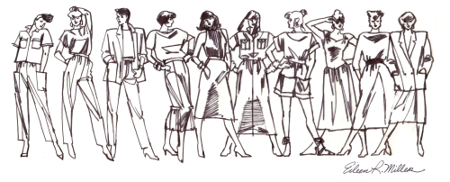 80's Fashion Figures