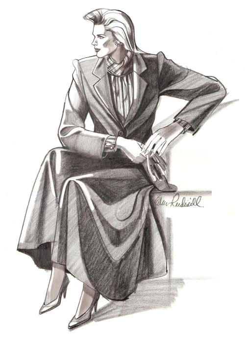 Dry Goods fashion illustration