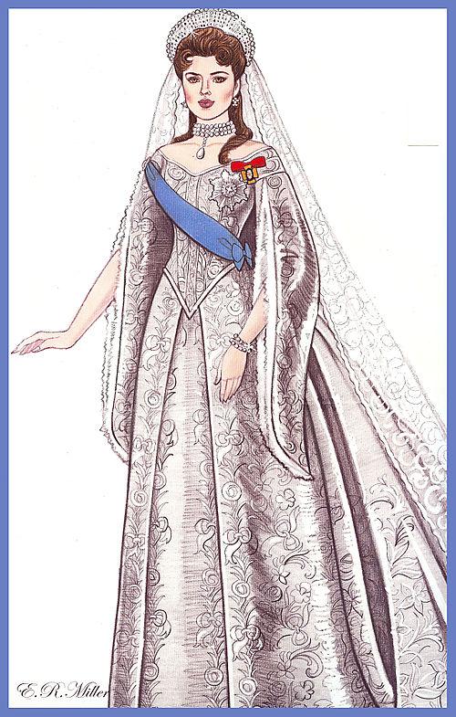 Franklin Mint Dolls Russian Empress Alexandra Vinyl
