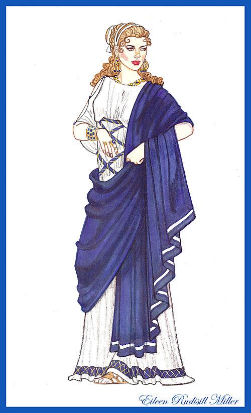 Roman Empress Costume Doll