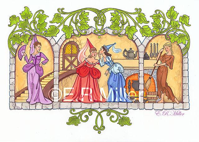 Scene from Cinderella