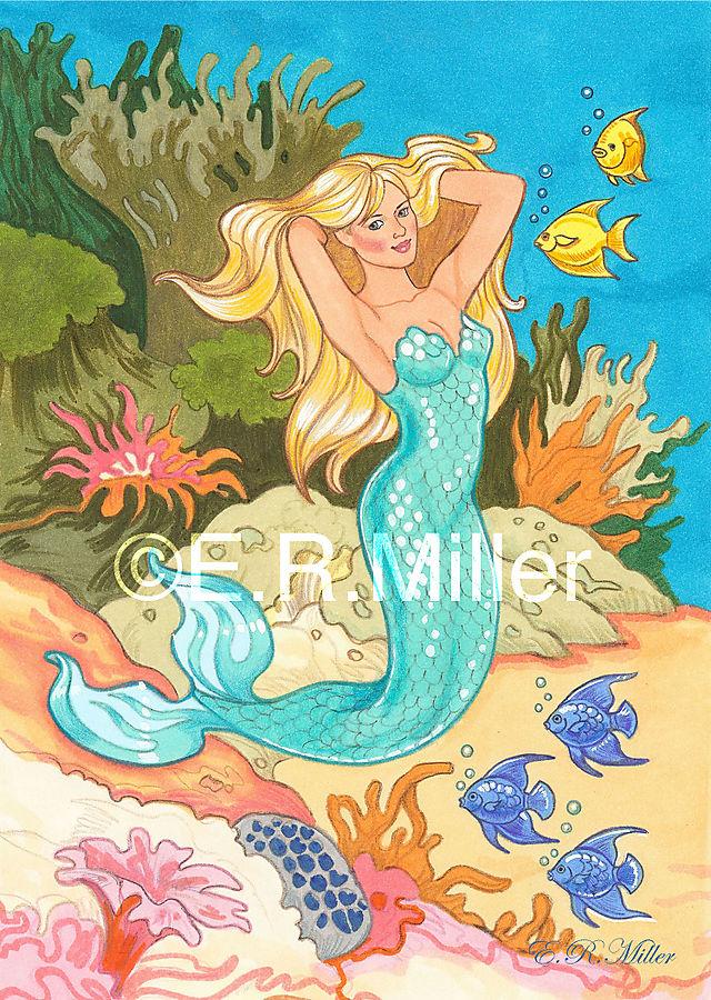 Turquoise Mermaid