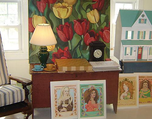 Tulips in the studio