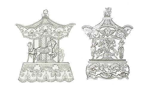 Carousels for The Franklin Mint