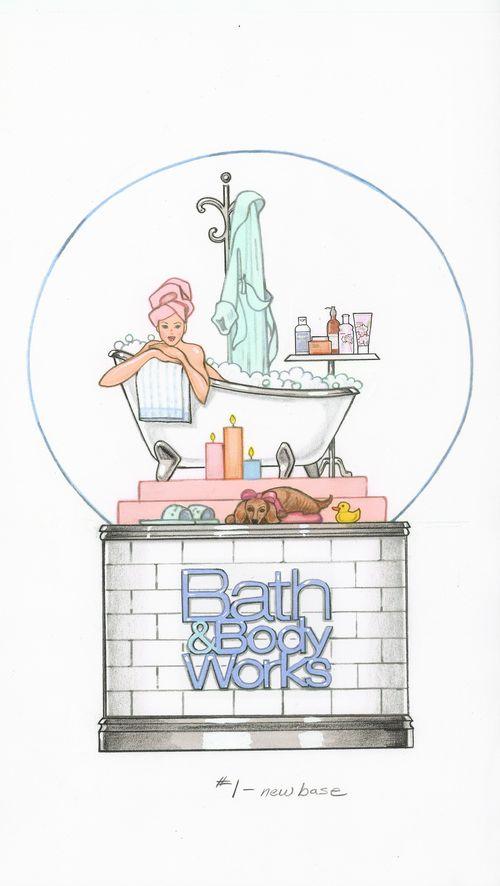 Bath Body Works Globe #1