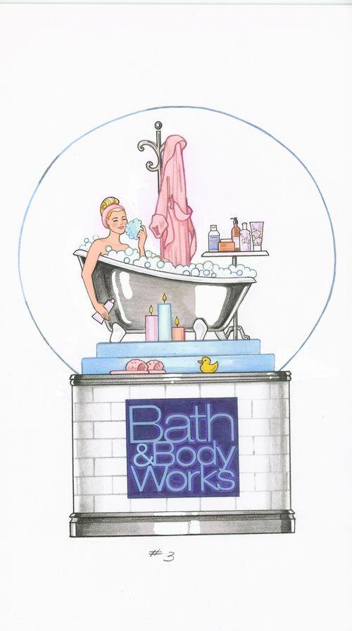 Bath Body Works Globe #2