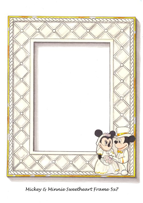 Mickey & Minnie Frame